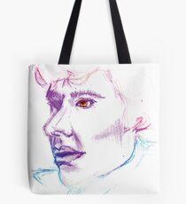 Sherlock Drawing Tote Bag