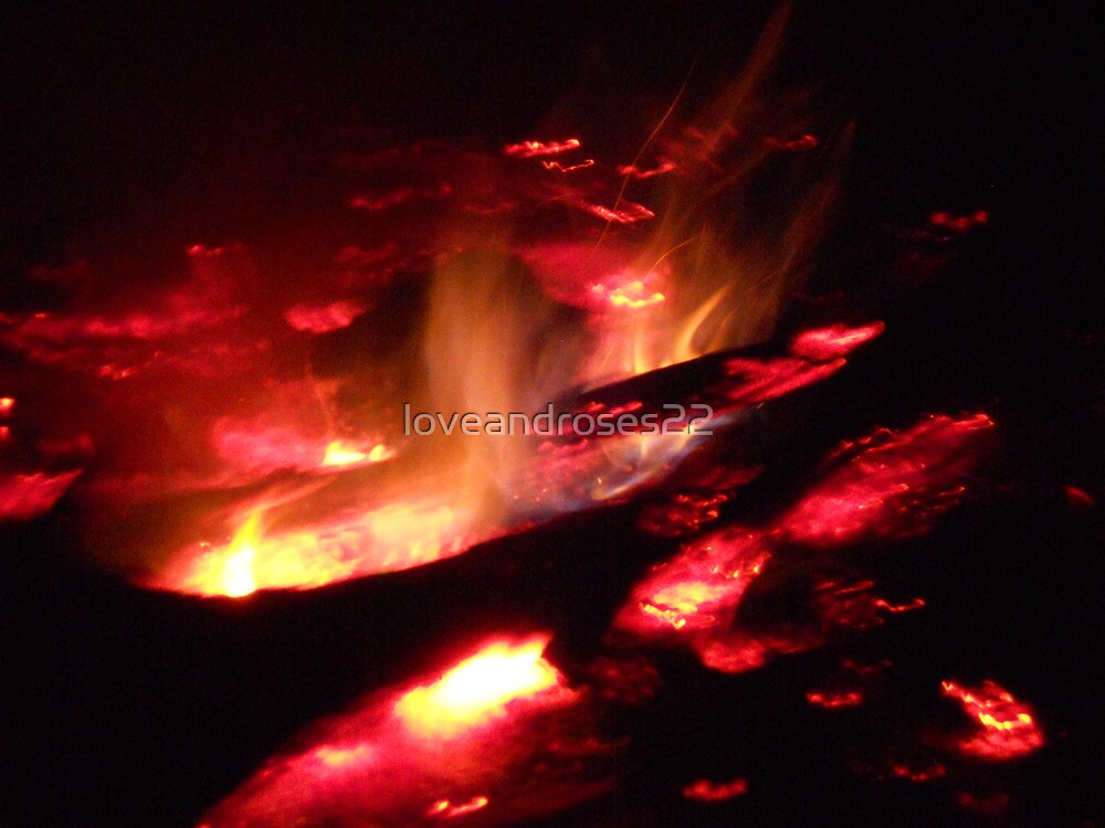 Red Hot Coals by loveandroses22