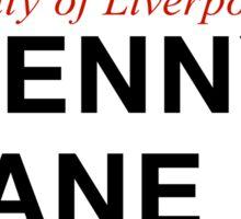 Penny Lane, Liverpool Street Sign, UK Sticker