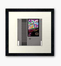 MLP Retro Cart Framed Print