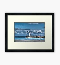 Donaghadee Lighthouse Framed Print
