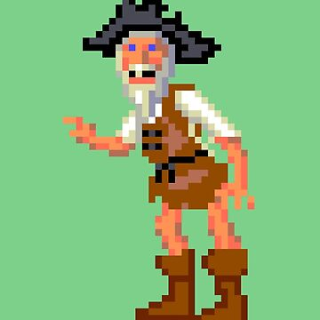 Herman Toothrot #02 (Monkey Island) by themasrix