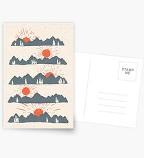 Sonnenaufgänge ... Sonnenuntergänge ... Postkarten