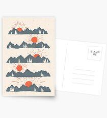 Sunrises...Sunsets... Postcards