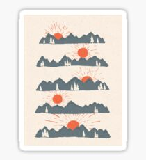 Sunrises...Sunsets... Sticker
