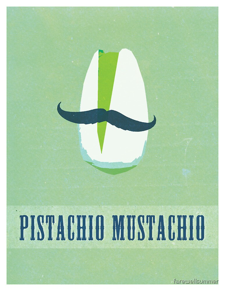 Pistachio Mustachio by farewellsummer