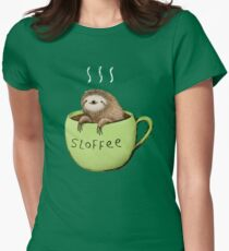 Sloffee Women's Fitted T-Shirt