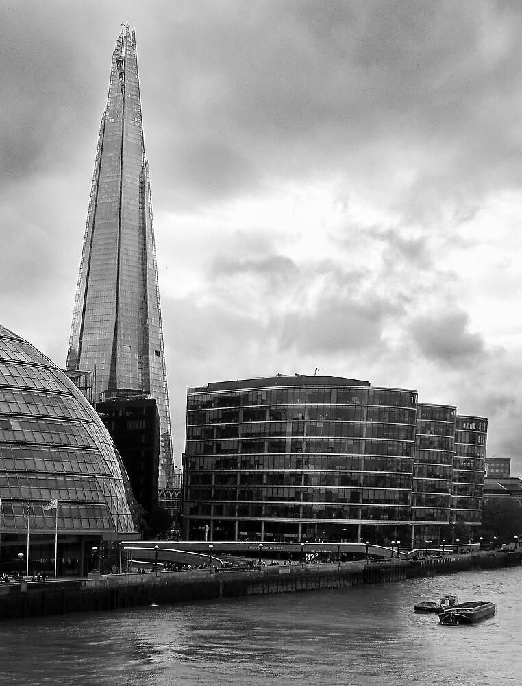 The Shard London by Paul Pasco