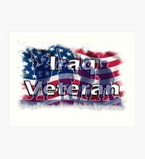 Iraq Veteran Art Print