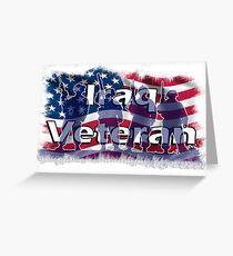 Iraq Veteran Greeting Card