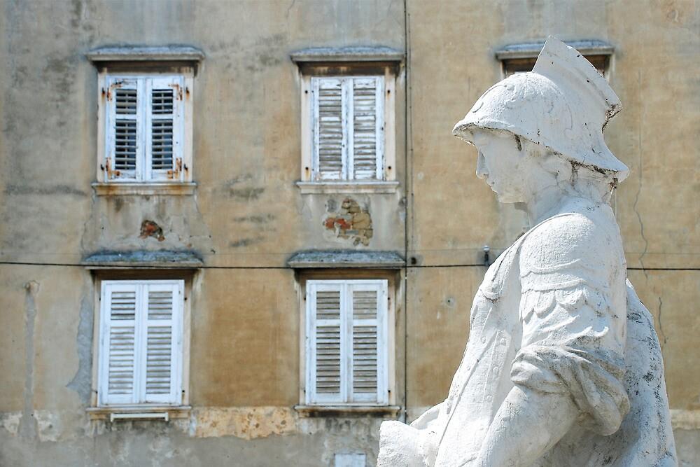 The squire of Piran - Slovenia by Arie Koene