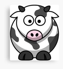 Silly Cow Canvas Print