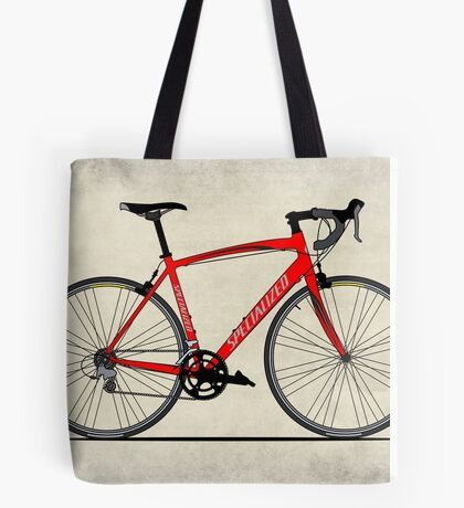 Specialized Race Bike Tote Bag