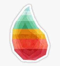 GeoDrop (Rainbow) Sticker