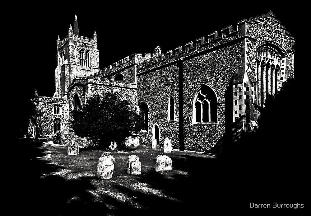 All Saint's Church Melbourn by Darren Burroughs