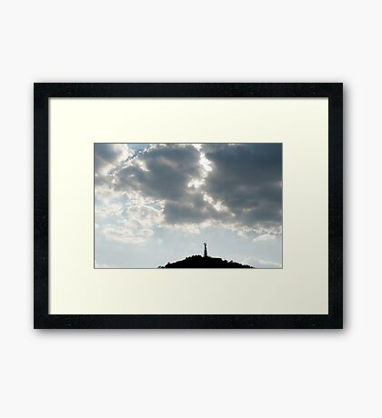 Szabadság Szobor Framed Print