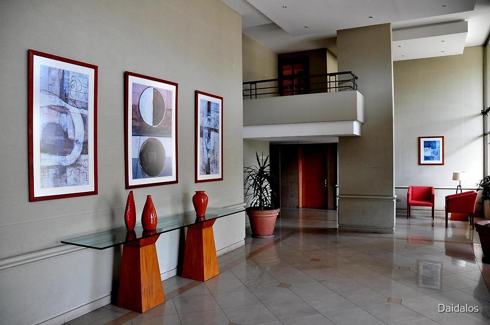 indoor architecture at santiago by Daidalos