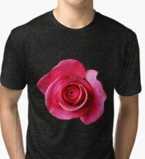 Astounding Blossom ~ Pink Rose Tri-blend T-Shirt