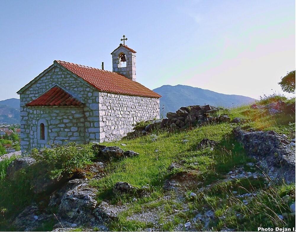 Trebješka church by DejanCG