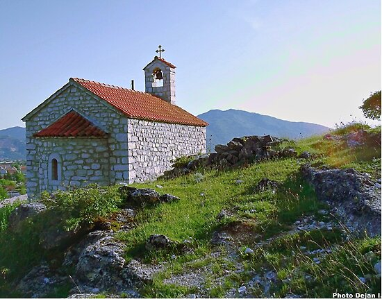 Trebješka church by DejanCG
