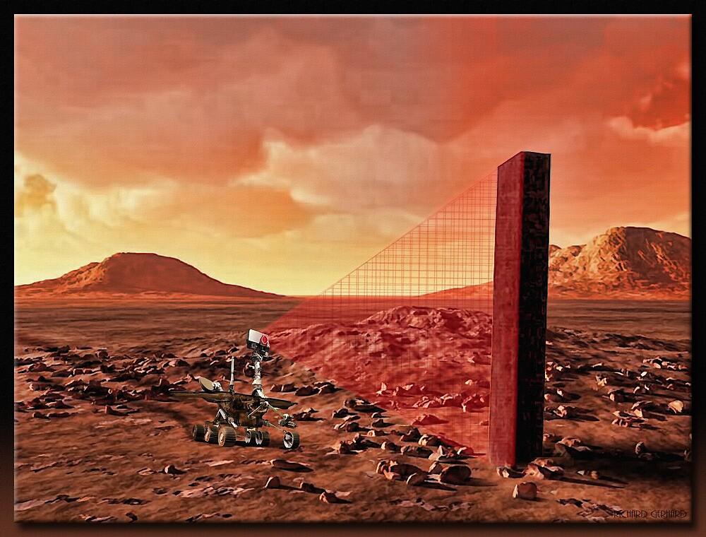 The Monolith by Richard  Gerhard