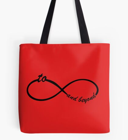 Funny Infinity sign for couples Tote Bag