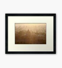 Bagan Framed Print