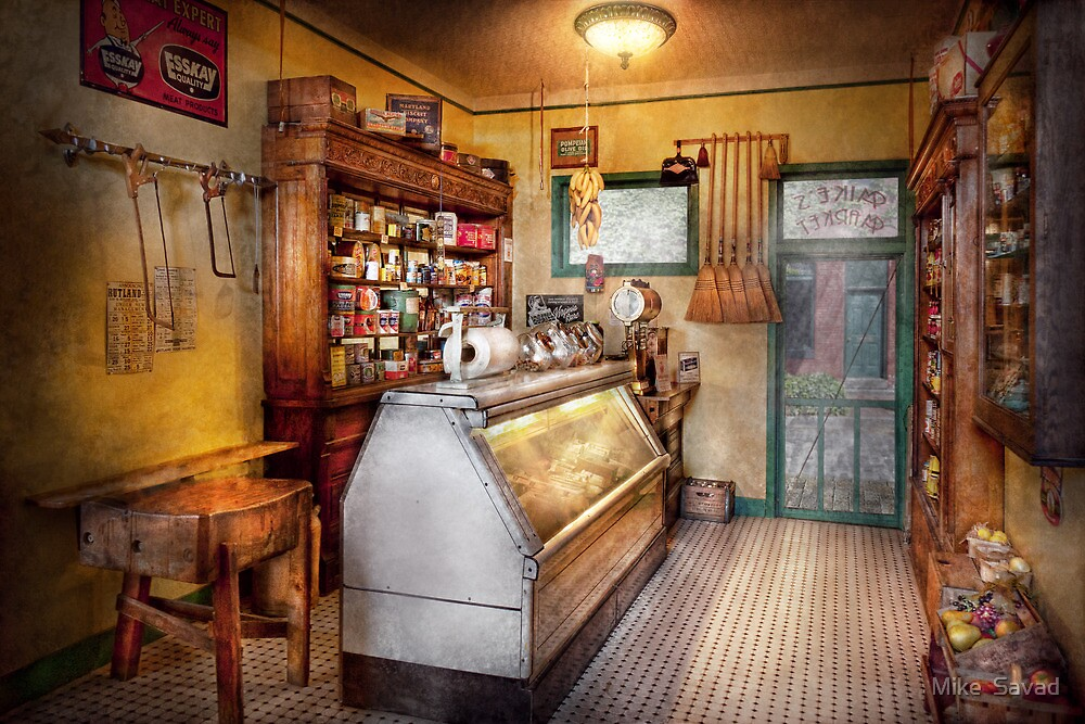 Americana - Store - At the local grocers by Michael Savad