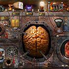 Steampunk - Information overload by Michael Savad