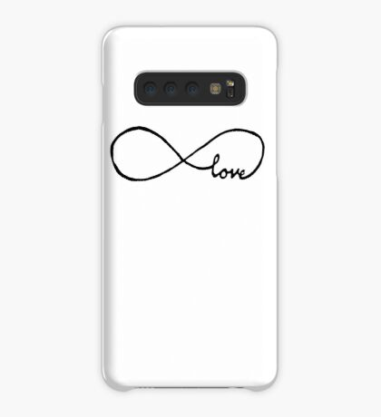 Pretty Infinity sign love Case/Skin for Samsung Galaxy