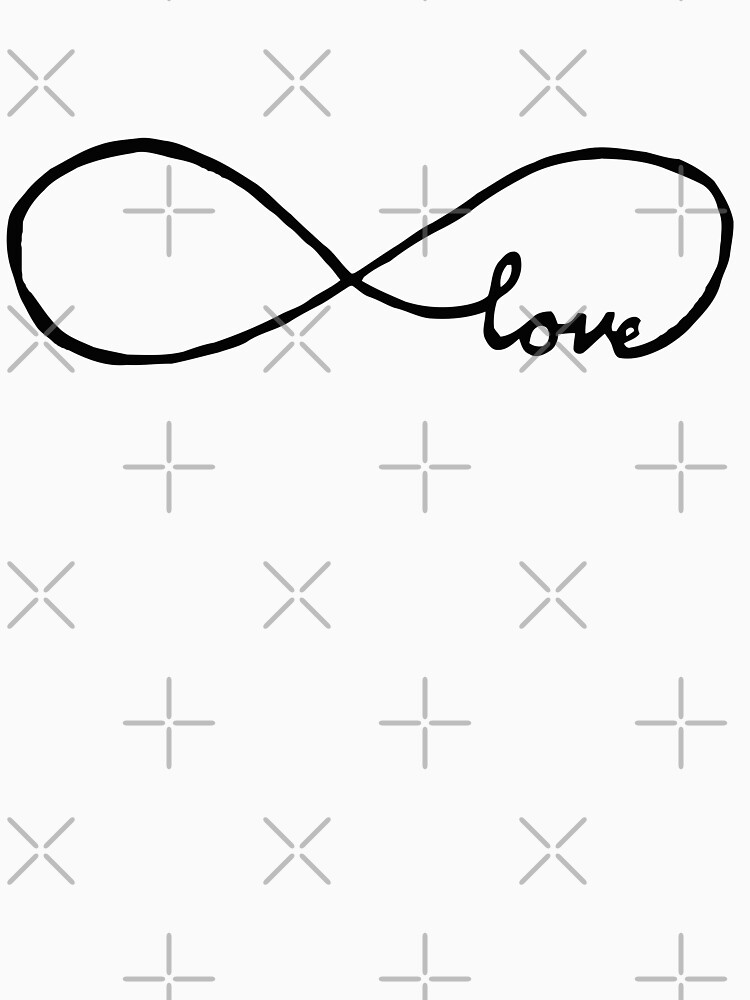 Pretty Infinity sign love by NeverGiveUp