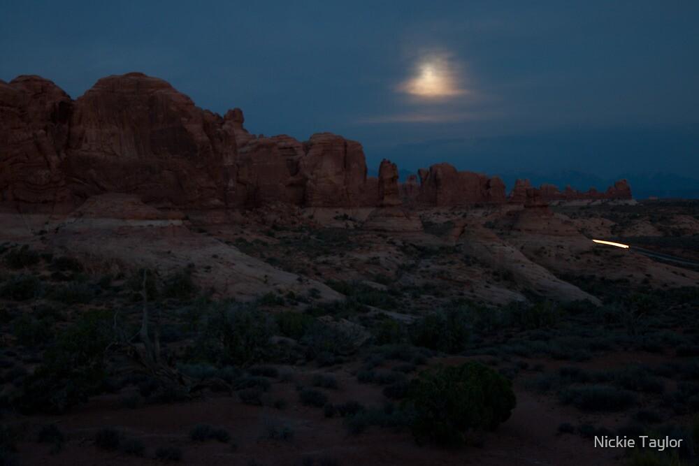 Night Landscape by Nickie Taylor