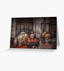 Steampunk - Private distillery  Greeting Card