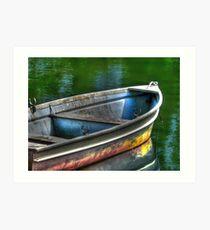 Oar, oar, oar your boat Art Print