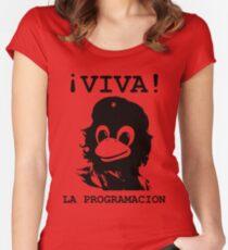 Viva programming Women's Fitted Scoop T-Shirt