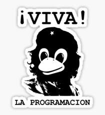 Viva programming Sticker