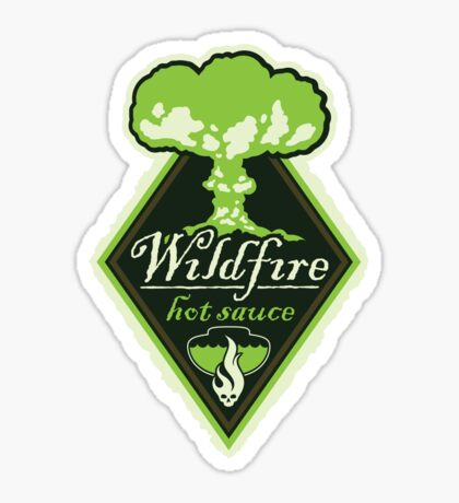 WILDFIRE HOT SAUCE Sticker