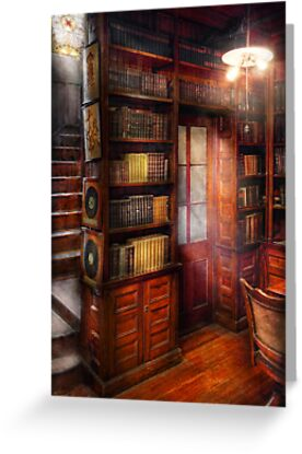 Steampunk - The semi-private study  by Michael Savad