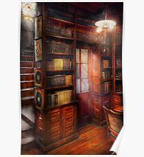 Steampunk - The semi-private study  Poster
