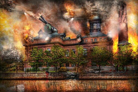 Steampunk - The war has begun by Michael Savad
