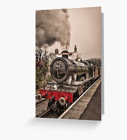 Kinlet Hall  Greeting Card