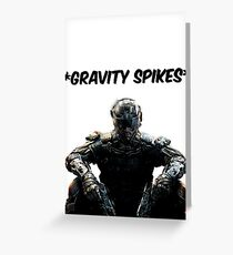 Black Ops 3 Gravity Spikes Tee Greeting Card