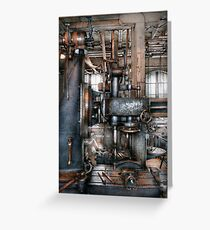 Machinist - My really cool job Greeting Card