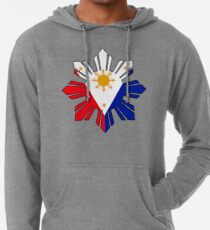 Philippine Sun Flag Lightweight Hoodie