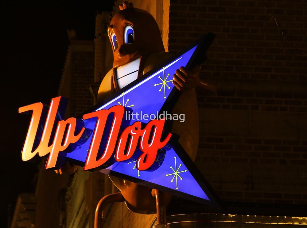 Up Dog by littleoldhag