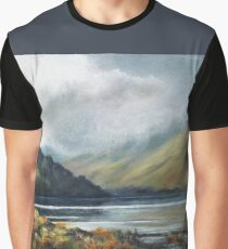 MIST IN THE LAKES Graphic T-Shirt