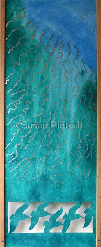 Flowing Water by Susan Pietsch