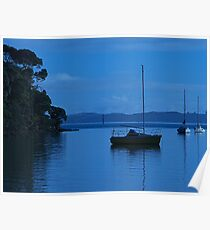 Morning light, Bay of Islands, New Zealand.......! Poster