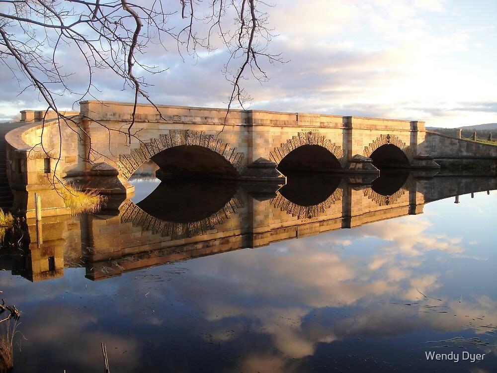Ross Bridge Reflections, Tasmania by Wendy Dyer