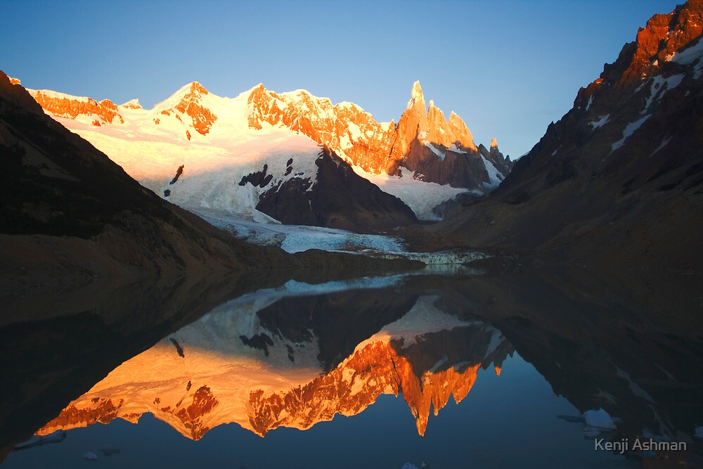 Reflecting on a Mountain by Kenji Ashman